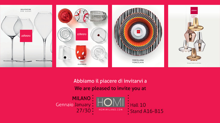 We are glad to invite you to HOMI, Milan, 27-30 January 2017