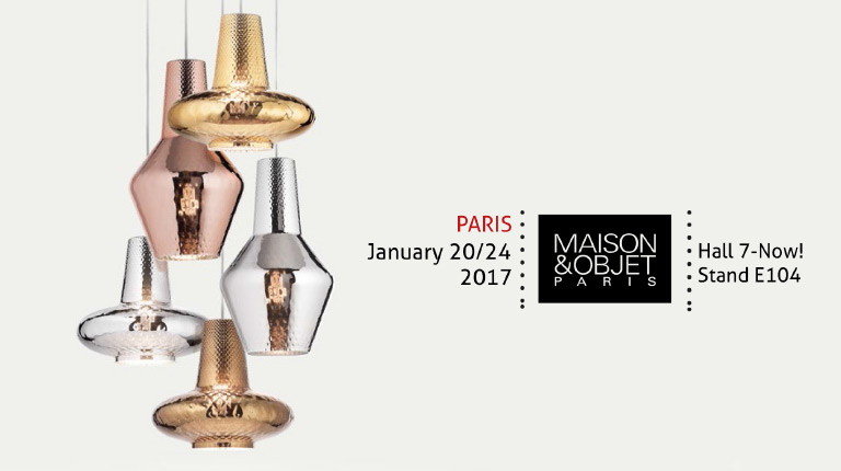 We are pleased to invite you to Maison&Objet, Paris, 20-24 January 2017