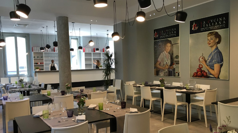 Partnership with La Scuola Cucina Italiana: some innovations
