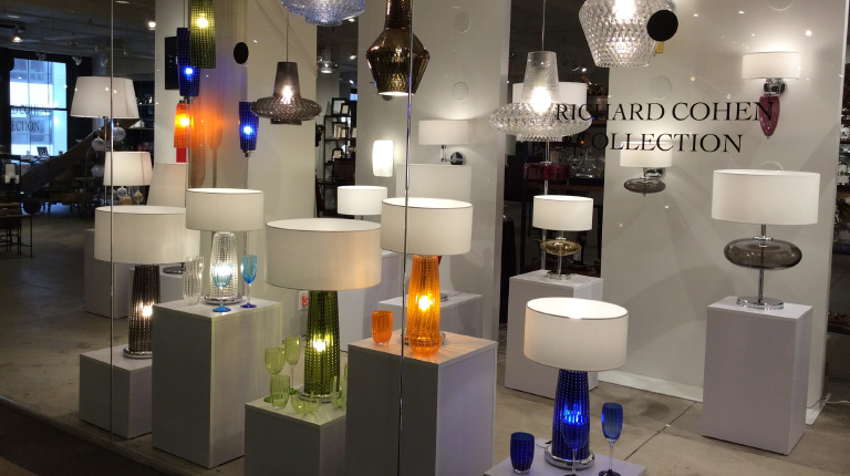 Zafferano showroom open at the New York Design Center