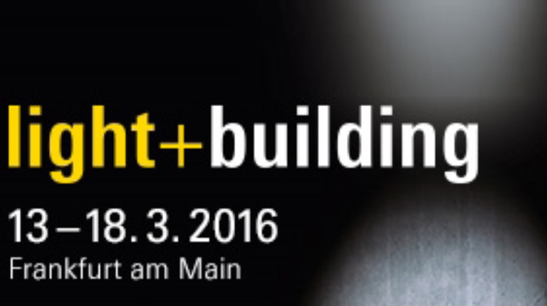 At Light + Building 2016 with our lighting brands