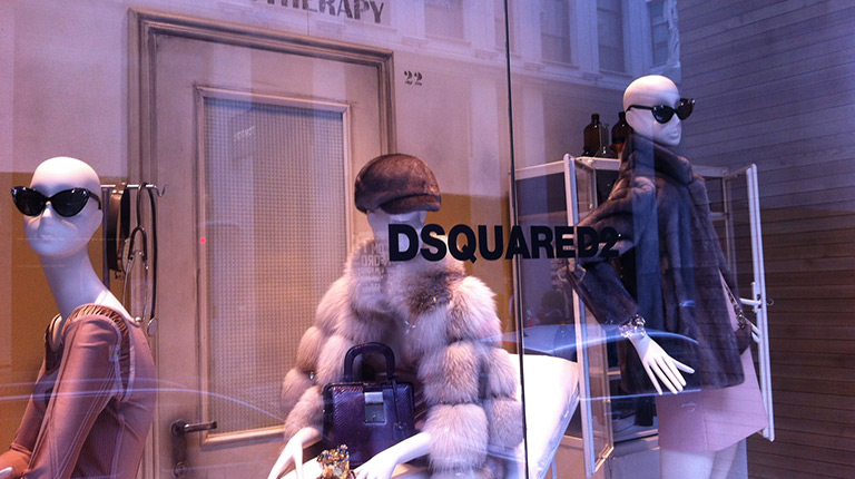 In Paris with Dsquared2: fashion & design, expression of Italian taste