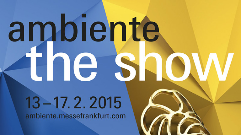 Save the date: Ambiente 2015