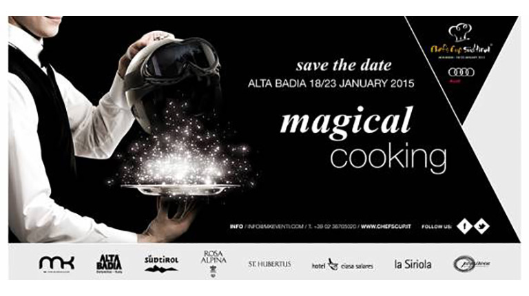 Save the date: Audi Chef's Cup Südtirol 2015, 18th-23rd January