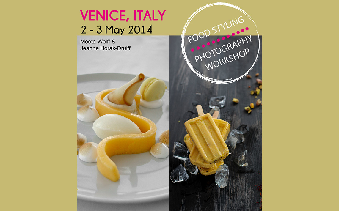 Zafferano supporter del Venice Food Styling and Photography Workshop