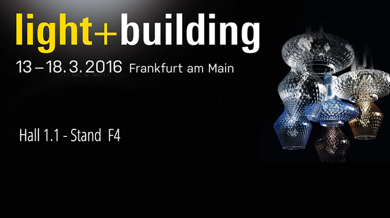 Vi diamo appuntamento a Light - Building, Francoforte, dal 13 al 18 marzo 2016