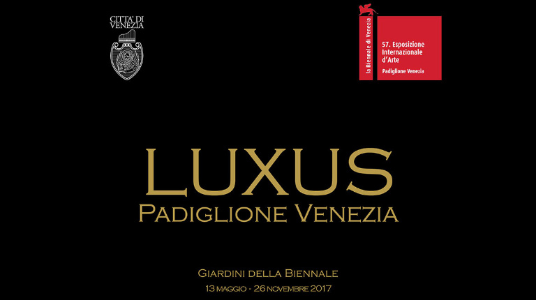 Zafferano taking part in Luxus, exhibition at Padiglione Venezia during the  57th International Art Exhibition – La Biennale di Venezia, from May 13th until November 26th 2017
