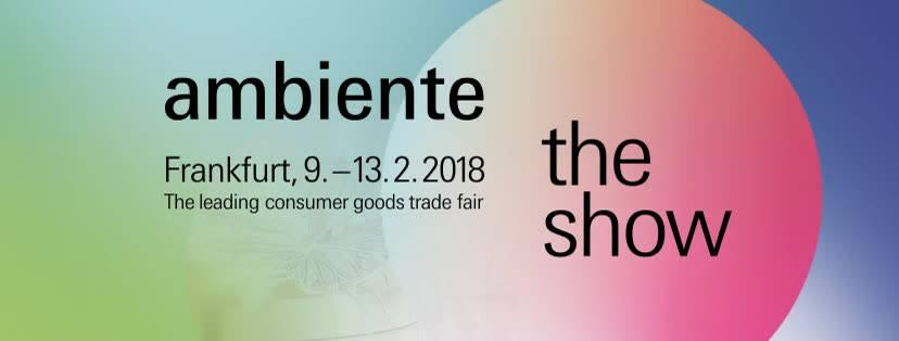 2018 kicks off with the HOMI and Ambiente trade fairs