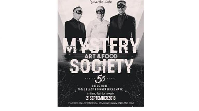 Mystery Art & Food Society, featuring a mise en place by Zafferano
