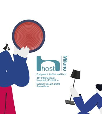 HOST 2019: exhibiting in Milan from 18 - 22 October