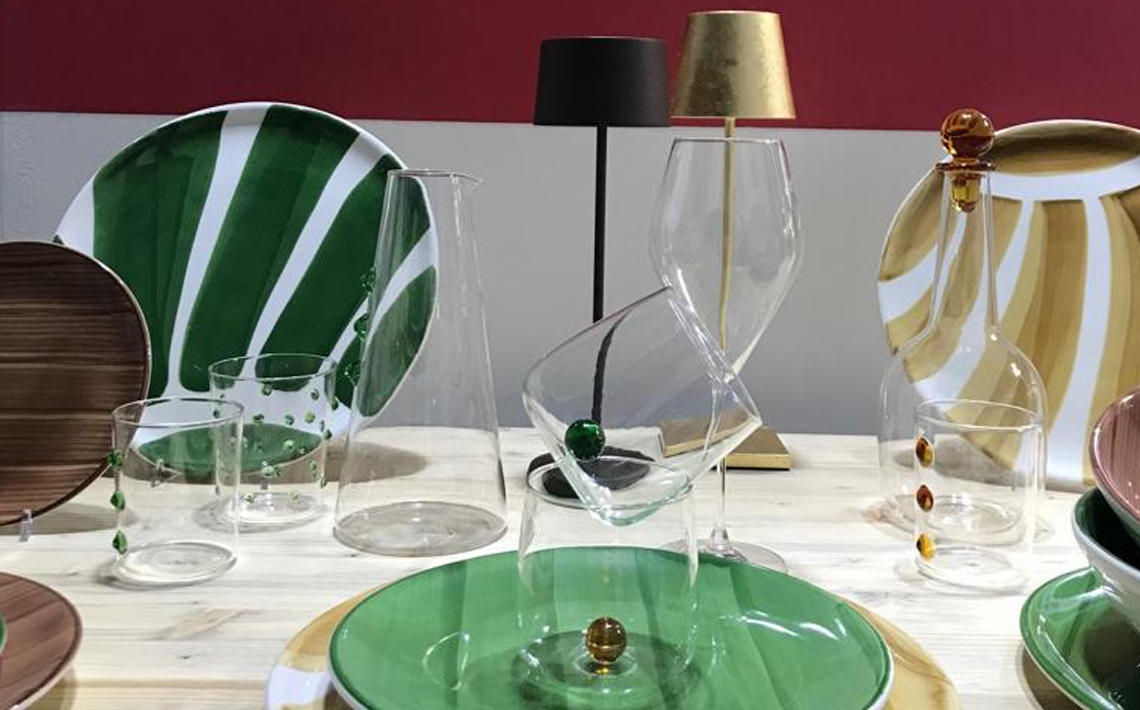 New tableware collections and nomadic lamps presented at HostMilano