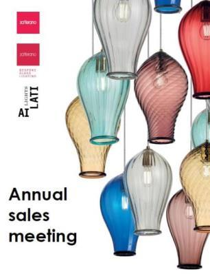 Our Lighting Sales Meeting in Murano
