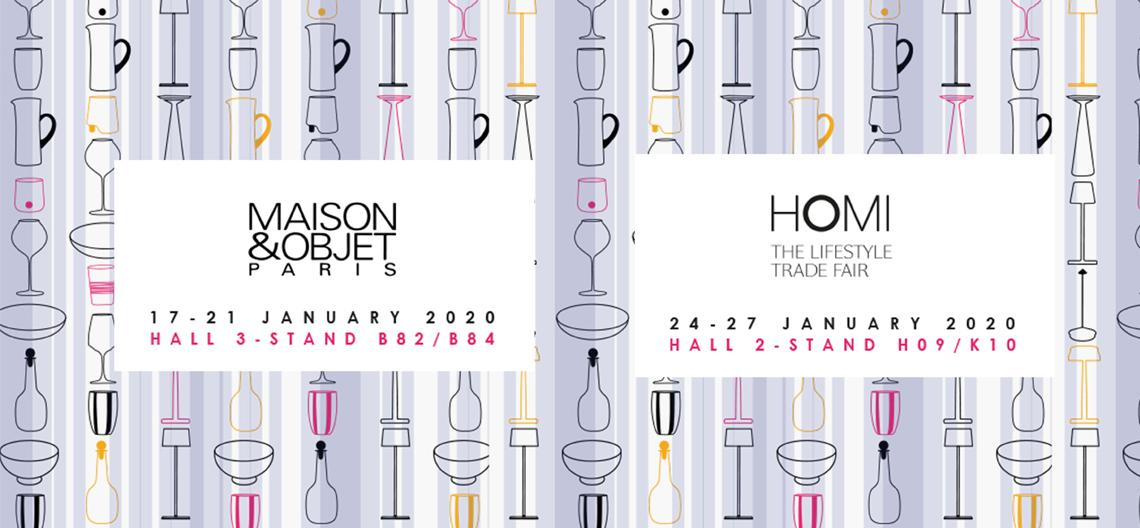 MAISON&OBJET / HOMI: join Zafferano in Paris and Milan