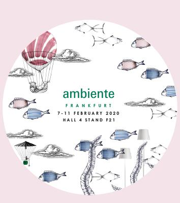 Zafferano exhibits at AMBIENTE fair in Frankfurt