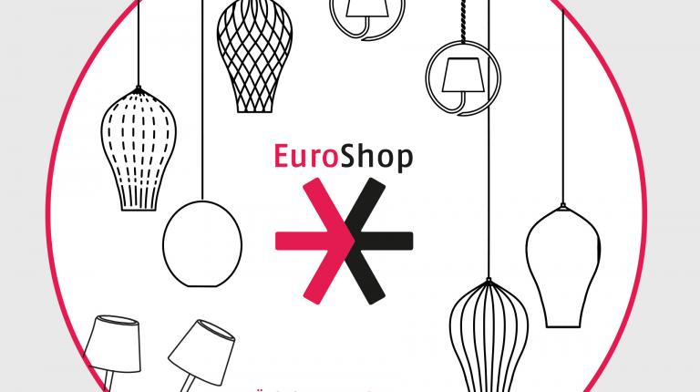 The lighting brands by Zafferano are showcased at EUROSHOP in Düsseldorf