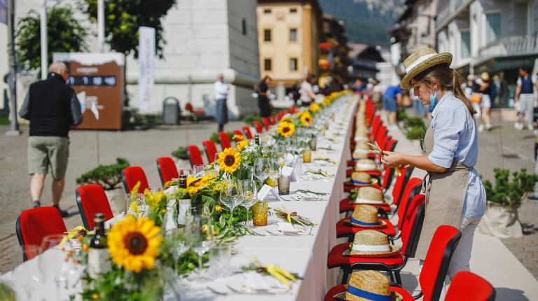 Zafferano sponsors The Queen of Taste, the culinary event in the queen city of the Dolomites