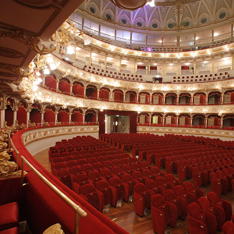 Petruzzelli theater of Bari