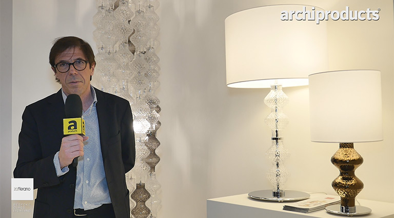 Euroluce 2017 - Interview with Federico de Majo